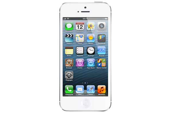 apple iphone 5 reconditionn 32go blanc. Black Bedroom Furniture Sets. Home Design Ideas