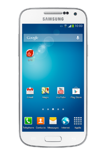 SAMSUNG - Galaxy S4 Mini Blanc