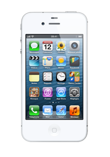 Apple iPhone 4S 8Go BLANC