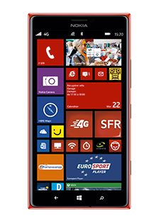 NOKIA LUMIA 1520 Rouge