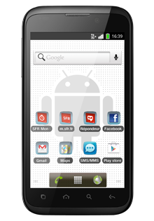 Smartphone Android by SFR STARADDICT III Reconditionné