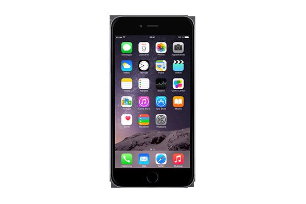 apple iphone 6 plus reconditionn 128go gris sfr. Black Bedroom Furniture Sets. Home Design Ideas
