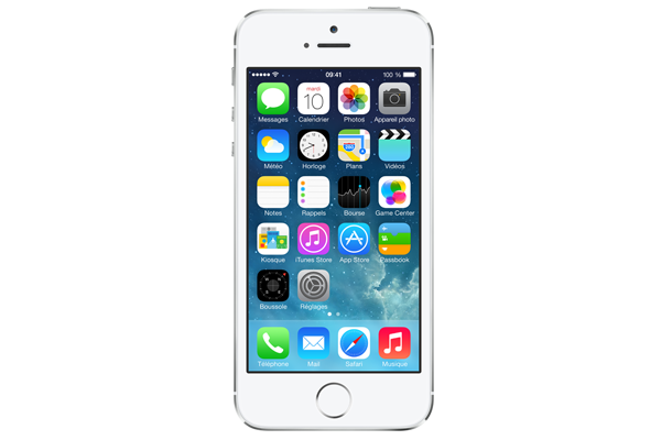 apple iphone 5s occasion 16go argent sfr. Black Bedroom Furniture Sets. Home Design Ideas