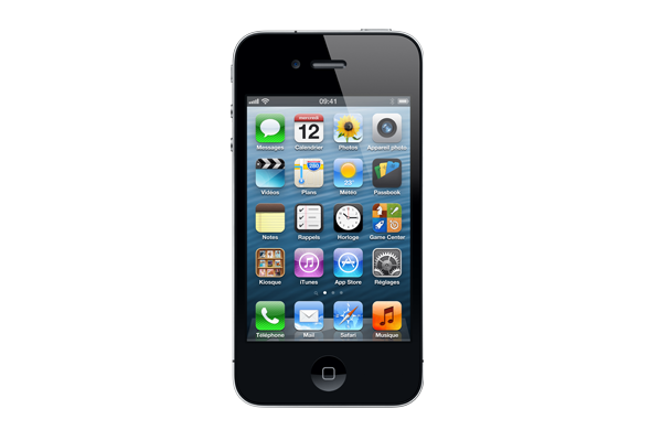 apple iphone 4 occasion 16go noir. Black Bedroom Furniture Sets. Home Design Ideas