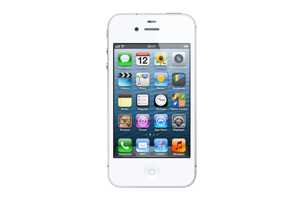 apple iphone 4s occasion 16go blanc