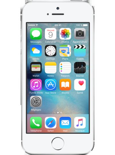 apple iphone 5s reconditionn 16go argent sfr