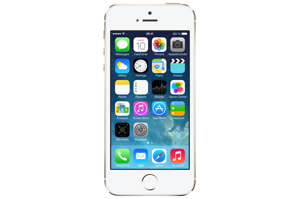apple iphone 5s 16go rec a occasion smartphone premium red by sfr. Black Bedroom Furniture Sets. Home Design Ideas