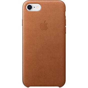 Coque en cuir pour iPhone 7 / 8 Havane