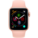 Apple Watch Series 4 4G 40mm aluminium or - Bracelet Sport rose des sables