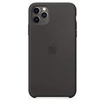 SFR-Coque Apple silicone pour iPhone 11 Pro Max - Noir