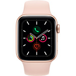 Apple Watch Series 5 4G 40 mm aluminium or avec Bracelet Sport Rose des sables