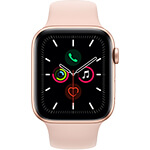 Apple Watch Series 5 4G 44 mm aluminium or avec Bracelet Sport Rose des sables