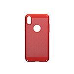 SFR-Coque perforée rouge pour iPhone X ou iPhone XS