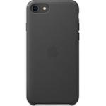SFR-Coque Apple cuir pour iPhone SE (2ème gen) - Noir