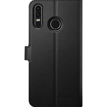 SFR-Etui folio noir Spigen pour Huawei P30 Lite