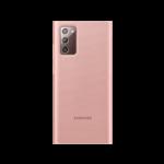 SFR-Etui Clear View bronze pour Samsung Galaxy Note20