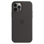 SFR-Coque Silicone MagSafe Noire pour Apple iPhone 12/12 Pro