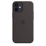 SFR-Coque Silicone iPhone 12 Mini MS noir