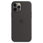 SFR-Coque Silicone MagSafe Noire pour Apple iPhone 12 Pro Max
