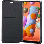 SFR-Etui Folio pour Samsung Galaxy A12 Noir