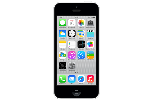 apple iphone 5c occasion 16go blanc sfr. Black Bedroom Furniture Sets. Home Design Ideas