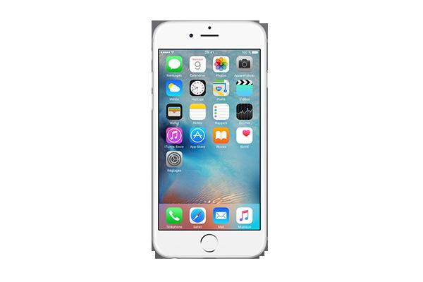 apple iphone 6 reconditionn 128go argent sfr. Black Bedroom Furniture Sets. Home Design Ideas
