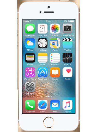 apple iphone se 16go or sfr. Black Bedroom Furniture Sets. Home Design Ideas