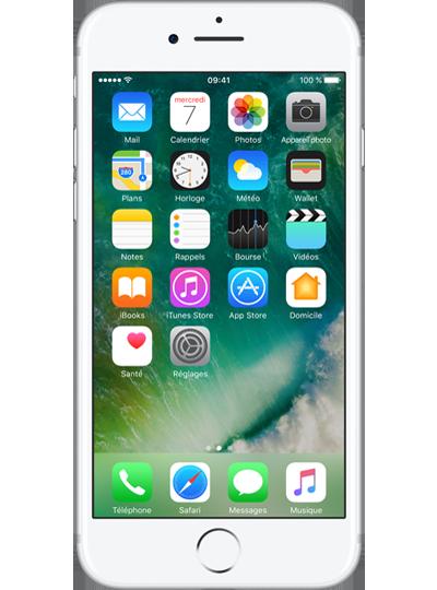 apple iphone 7 32go argent sfr. Black Bedroom Furniture Sets. Home Design Ideas