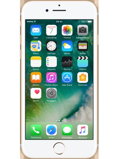 apple iphone 7 reconditionn 256go or sfr. Black Bedroom Furniture Sets. Home Design Ideas