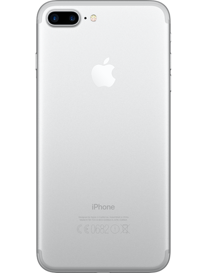 apple iphone 7 plus reconditionn 128go argent sfr. Black Bedroom Furniture Sets. Home Design Ideas