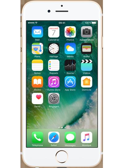 apple iphone 6s 32go or sfr. Black Bedroom Furniture Sets. Home Design Ideas