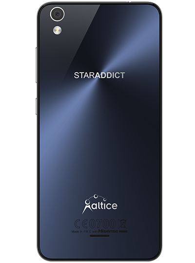 Altice staraddict 6 16go bleu sfr for Staraddict 3 prix
