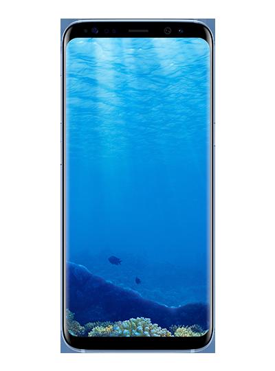 Samsung galaxy s8 64go bleu sfr for Photo ecran galaxy s8