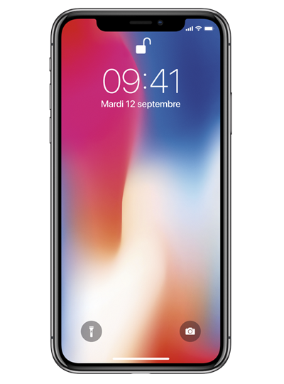 APPLE IPHONE X 64GO GRIS SIDÉRAL - SMARTPHONE PREMIUM - RED by SFR c51d7811efac