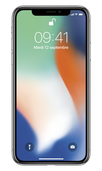 IPHONE X 64GO ARGENT