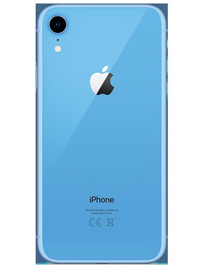APPLE iPhone XR bleu