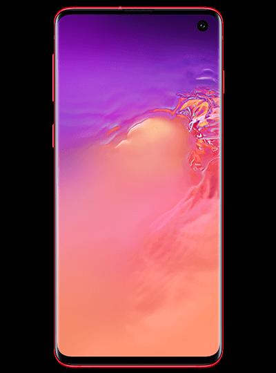 SAMSUNG Galaxy S10 rouge