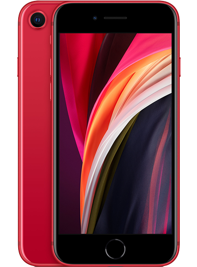 APPLE iPhone SE rouge