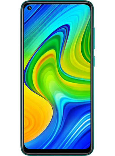 Xiaomi Redmi Note 9 vert