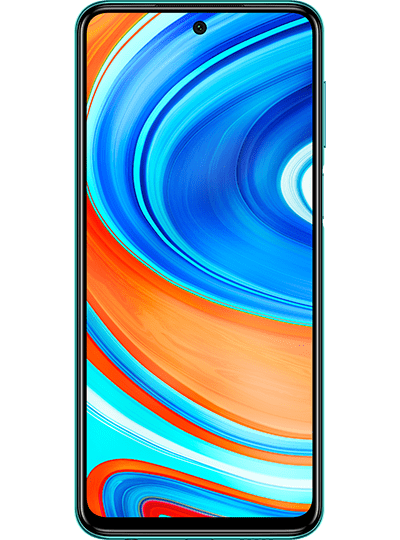 Xiaomi Redmi Note 9 Pro vert